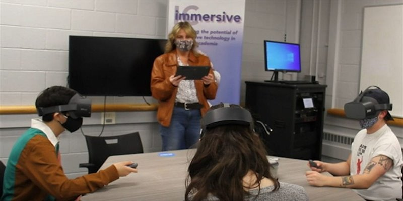 Immersive Connections – Teaching, Learning, and Creating in VR at Ithaca College