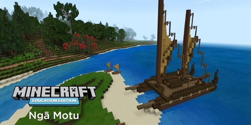 Ngā Motu: Transforming how students learn Māori with Minecraft