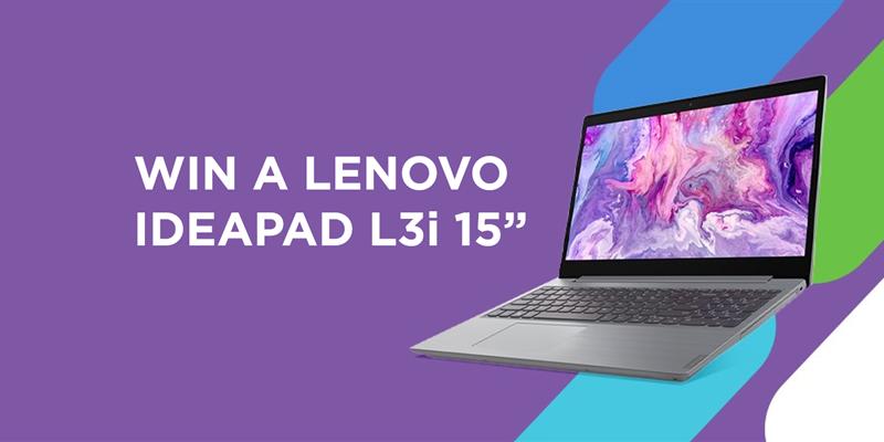 "[GIVEAWAY] Win a Lenovo IdeaPad L3i 15"" laptop!"